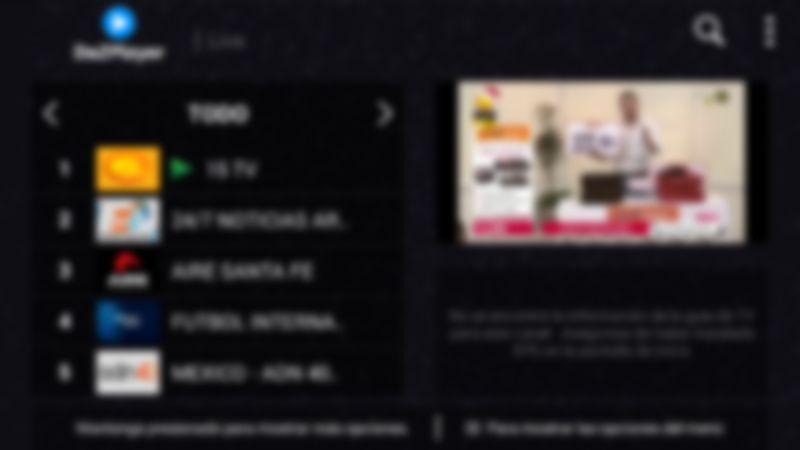 descargar Dazplayer en un Smart TV
