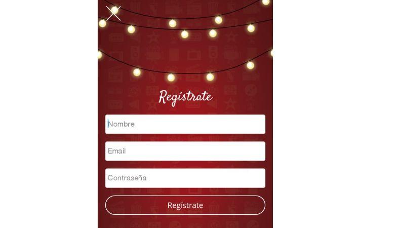como registrase en TuSeries apk