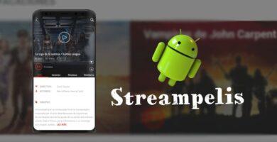 instalar Streampelis APP