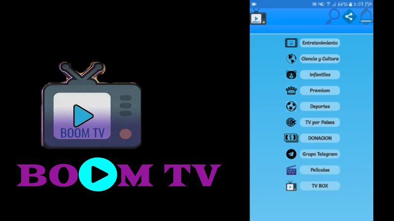 Descargar Boom TV APK para android