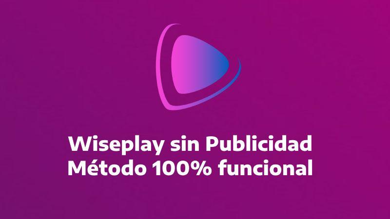 como bloquer la publicidad de Wiseplay gratis