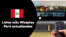 descargar Listas Wiseplay Perú