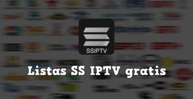 listas SS IPTV actualizadas