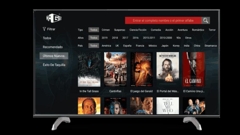 Magis TV app