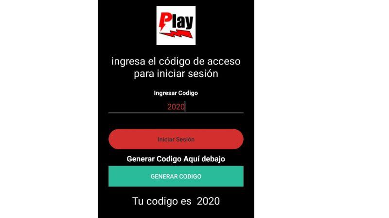 generar codigos para Play Rayo