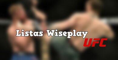 canales para ver la UFC en Wiseplay
