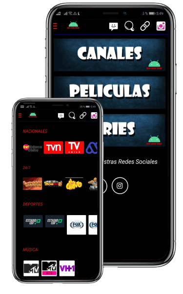 IPTV Chile Films app descargar