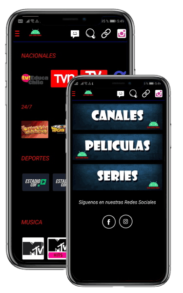 IPTV Chile Films apk