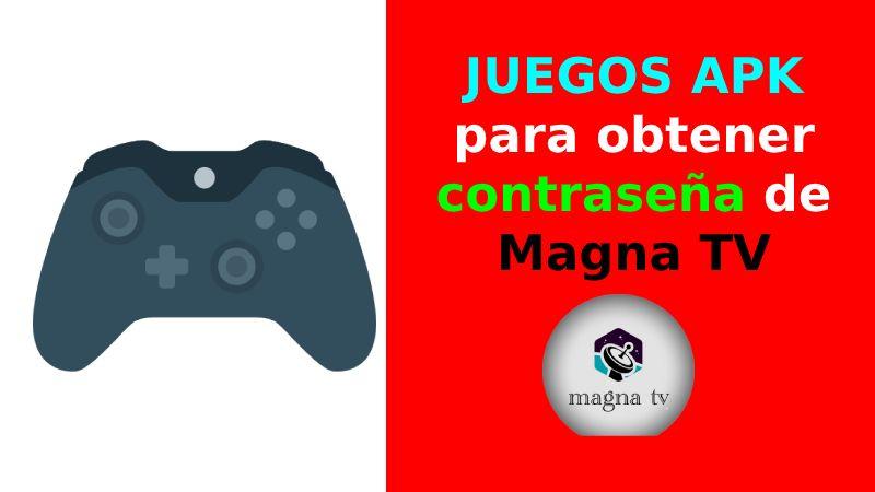 APK juegos para Magna tV