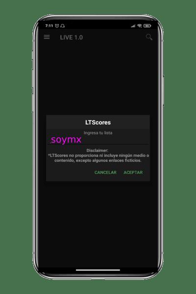 nuevas listas LTScores