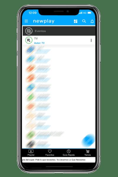Newplay app para Android