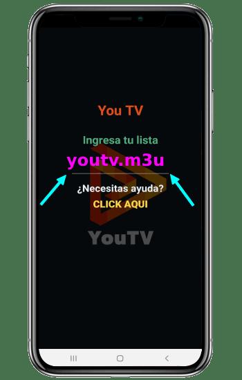 LISTA M3U de youtv