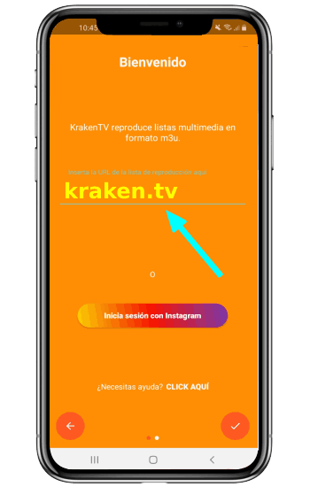 Kraken TV app activar